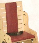 Theradapt Seat (full width) and Back Pad Set, Transition Chair