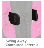 Convaid Contoured Lateral Thoracic Support Options - Rodeo