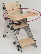 Theradapt Wood Tray, Odyssey Chair