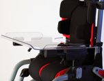 Leggero Reach Tray with Armrests and Hardware