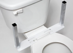 Inspired By Drive U-Shape Mounting Base Only for Toilet Support and/or Armrests