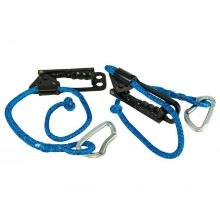 "Tumble Forms TWO Vestibulator 30"" Ropes with 2 Ascenders and 2 Carabiners"