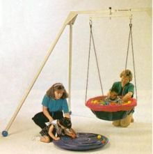 Tumble Forms Tortoise Shell, Balls, and Net with Suspension Kit