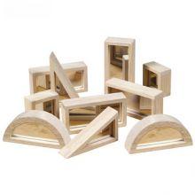 Guidecraft Mirror Blocks 10 Piece Set