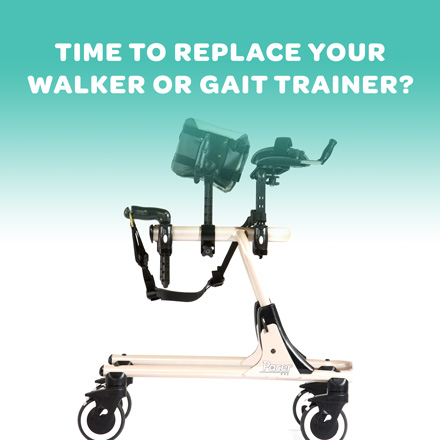 When is it Time to Replace Walker or Gait Trainer?