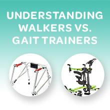 Understanding Walkers vs. Gait Trainers