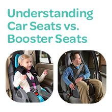 Understanding Car Seats versus Booster Seats