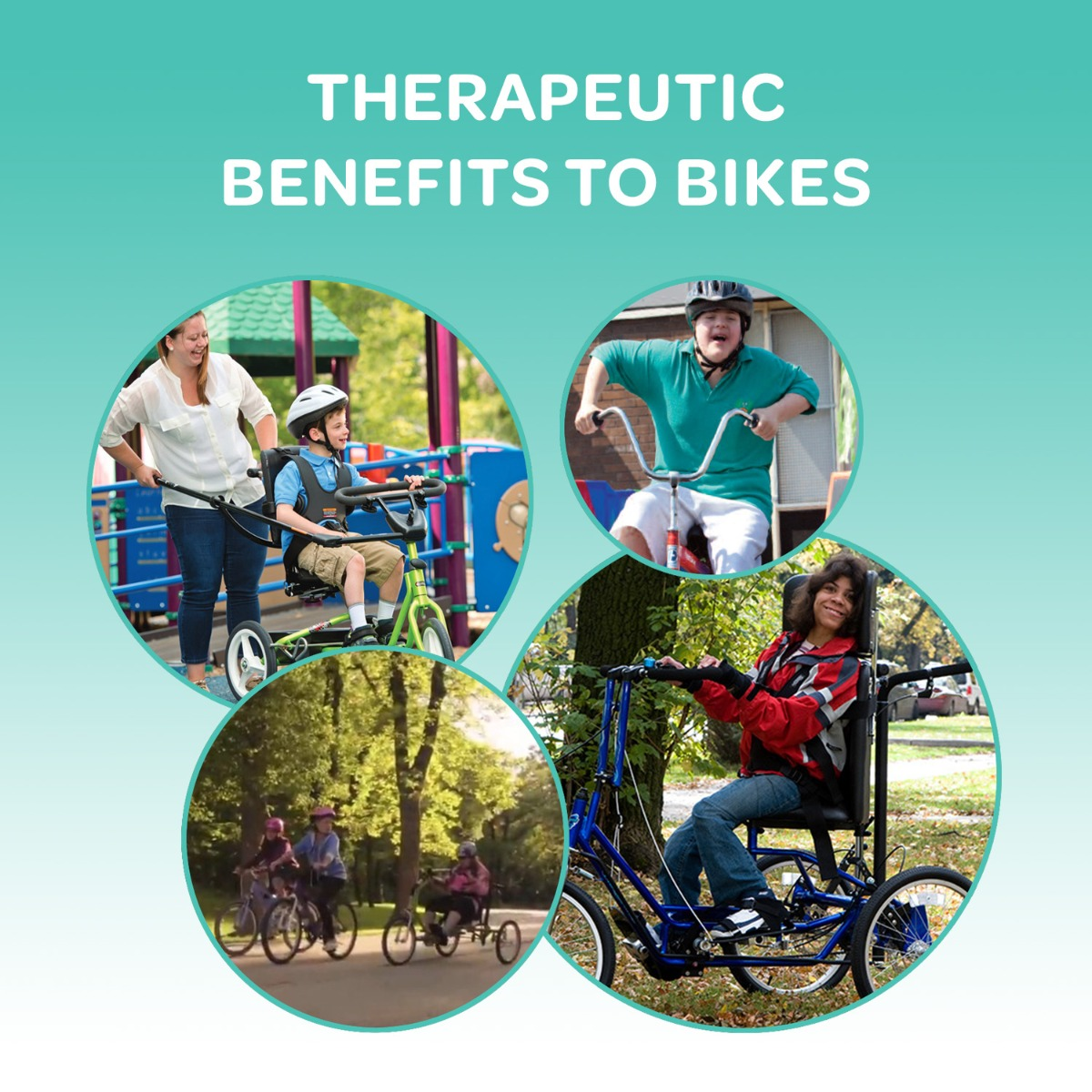 Therapeutic Benefits to Bikes