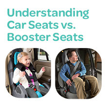 Understanding Car Seats vs. Booster Seats