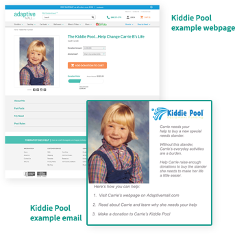 Kiddie Pool Example Page
